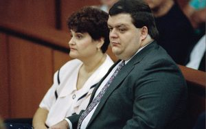Gail and Josh Cutro during her 1994 trial